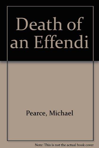 9780753165324: Death of an Effendi