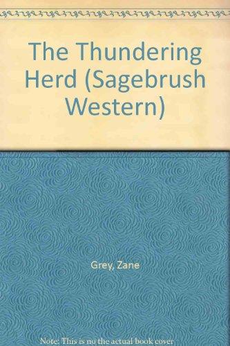 9780753166864: The Thundering Herd (Sagebrush Western)