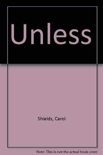 Unless: Carol Shields