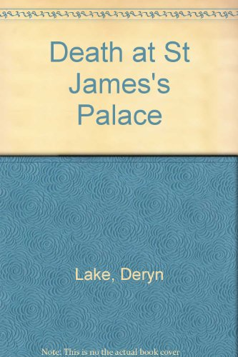 9780753172469: Death At St James's Palace