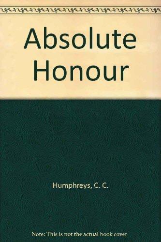9780753177969: Absolute Honour