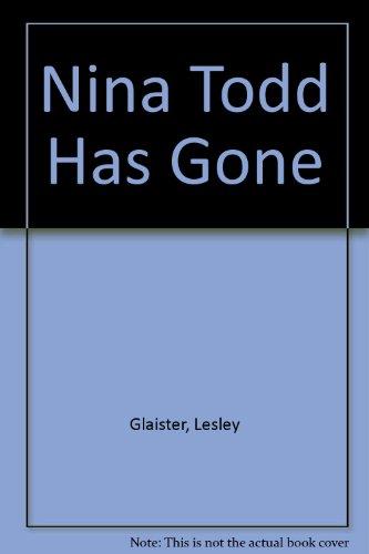 9780753178195: Nina Todd Has Gone