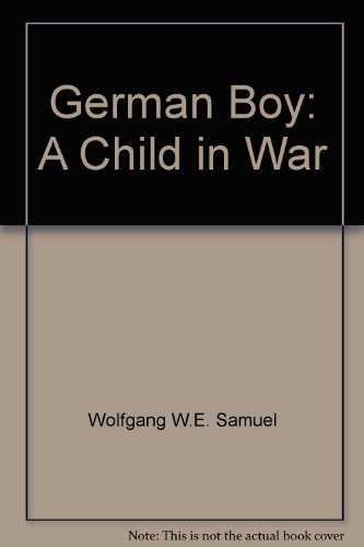 9780753198322: German Boy:a Child In War