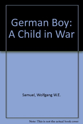 9780753198339: German Boy: A Child in War