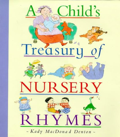 9780753401439: A Child's Treasury of Nursery Rhymes