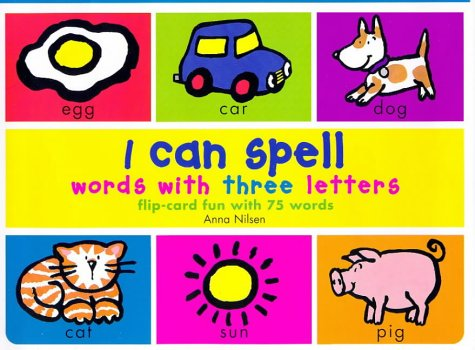 9780753401729: I Can Spell Words with Three Letters