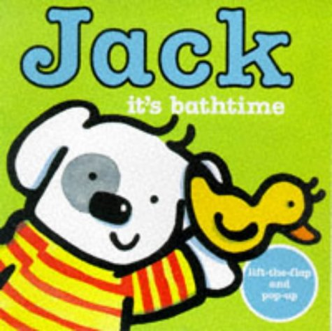 Jack: It's Bathtime (0753402270) by Rebecca Elgar