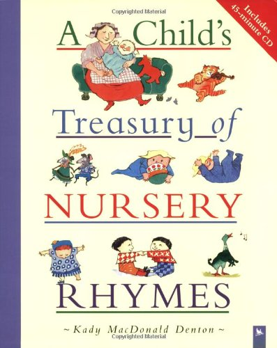 9780753409886: A Child's Treasury of Nursery Rhymes