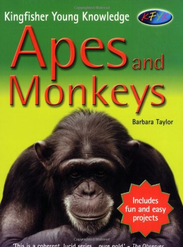 9780753410523: Apes and Monkeys (Kingfisher Young Knowledge) (Kingfisher Young Knowledge)