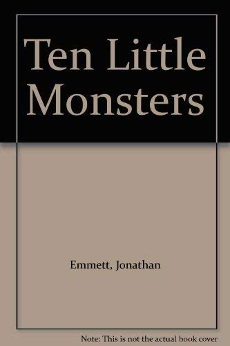 9780753412596: Ten Little Monsters (Pop Up Counting Book)