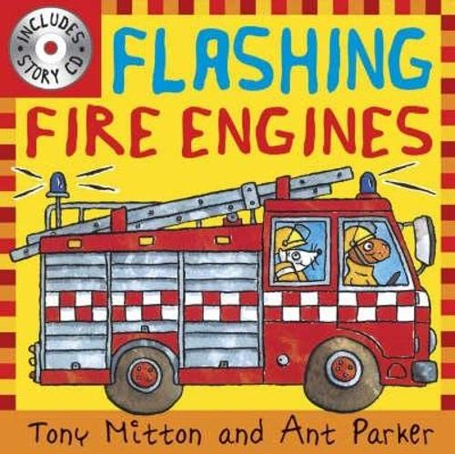 9780753414897: Flashing Fire Engines (Amazing Machines)