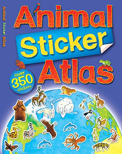 9780753419267: Animal Sticker Atlas