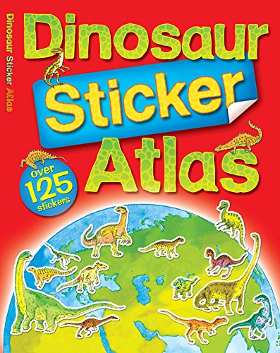 9780753419274: Dinosaur Sticker Atlas