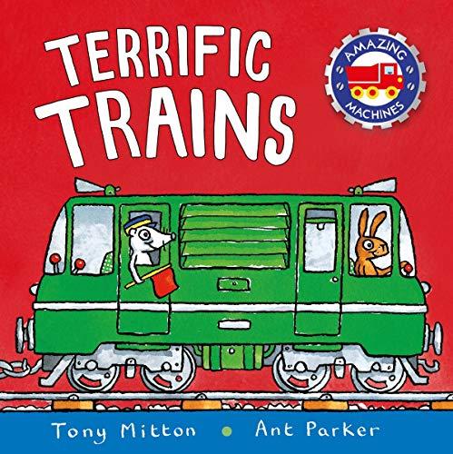 9780753441534: Amazing Machines: Terrific Trains