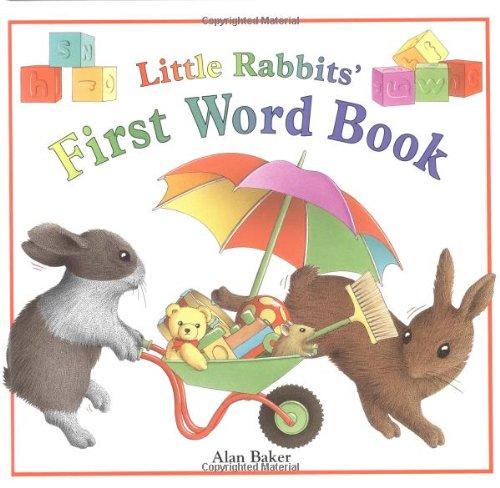 Little Rabbits' First Word Book: Alan Baker