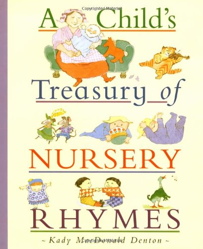 9780753451090: A Child's Treasury of Nursery Rhymes