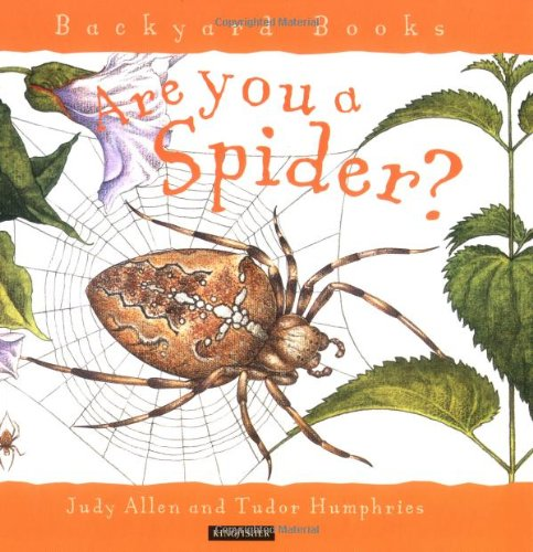 9780753452431: Are You A Spider? (Backyard Books)