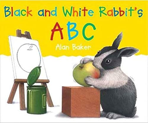 Black and White Rabbit's ABC (Little Rabbit Books): Baker, Alan