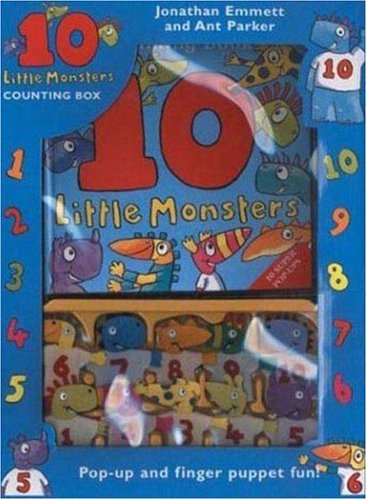 9780753455623: Ten Little Monsters Counting Box