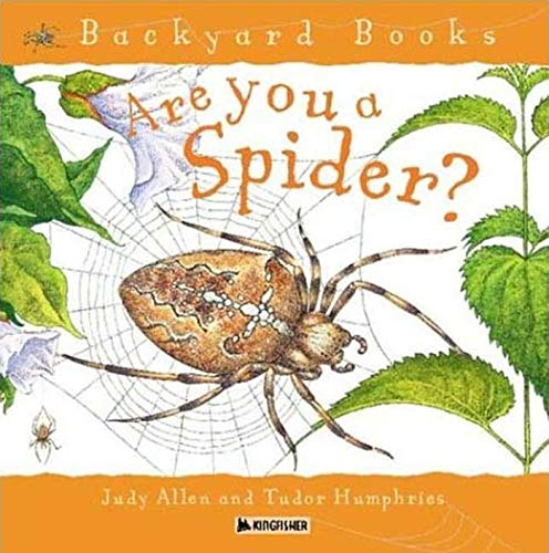 9780753456095: Are You a Spider? (Backyard Books)