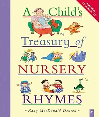 9780753457108: A Child's Treasury of Nursery Rhymes