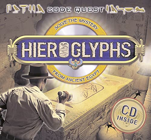 9780753464113: Code Quest: Hieroglyphs - Solve the Mystery from Ancient Egypt