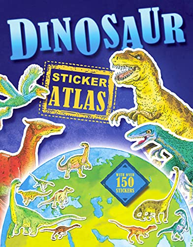 9780753464434: Dinosaur Sticker Atlas