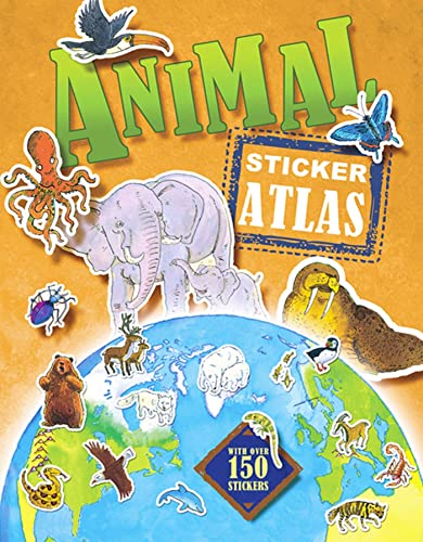 9780753464441: Animal Sticker Atlas