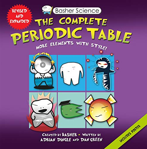 9780753471975: Basher Science: The Complete Periodic Table: All the Elements with Style!