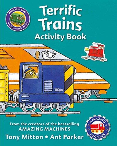 9780753472958: Amazing Machines Terrific Trains Activity Book