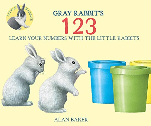 9780753473252: Gray Rabbit's 123 (Little Rabbit Books)