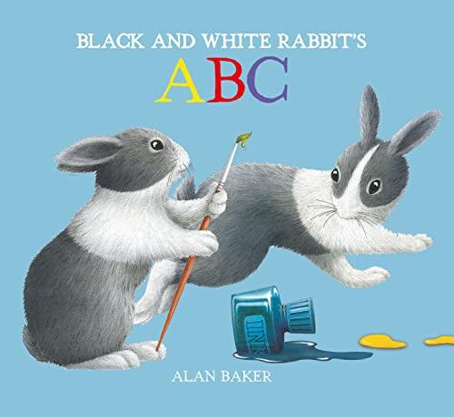 Black and White Rabbit's ABC (Little Rabbit: Baker, Alan