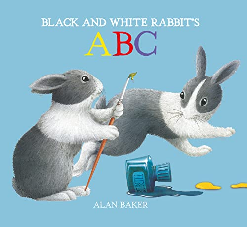 9780753473603: Black and White Rabbit's ABC (Little Rabbit Books)