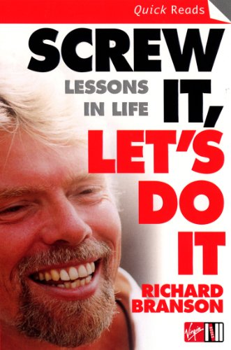 9780753510995: Screw It, Let's Do It: Lessons In Life (Quick Reads)