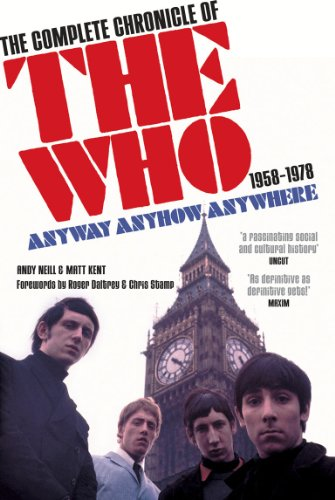 """9780753512173: Anyway Anyhow Anywhere: The Complete Chronicle of the """" Who """" 1958-1978"""