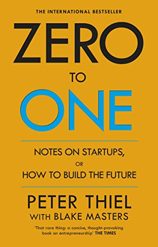 9780753555194: Zero to One: Notes on Start Ups, or How to Build the Future