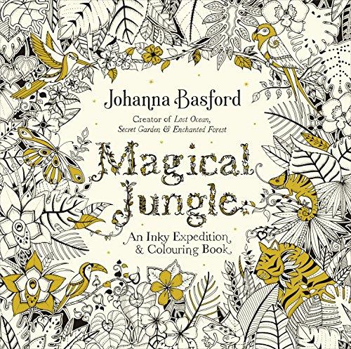 Magical Jungle By Johanna Basford Author Ebury Publishing 2016 08