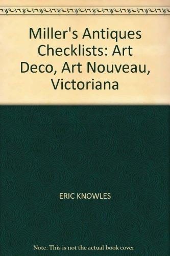9780753703274: Miller's Antiques Checklists: Art Deco, Art Nouveau, Victoriana