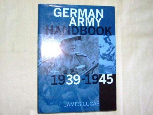 9780753703335: German Army Handbook: 1939-1945