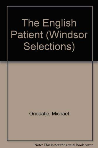 The English Patient (Windsor Selections) (0754010457) by MICHAEL ONDAATJE