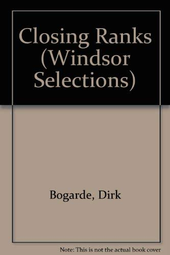 9780754010807: Closing Ranks (Windsor Selections)