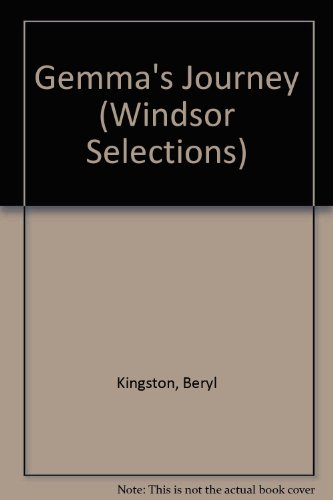 9780754012276: Gemma's Journey (Windsor Selections)