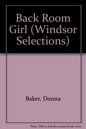 9780754013754: Back Room Girl (Windsor Selections)