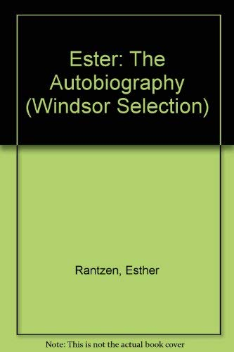 9780754016342: Ester: The Autobiography (Windsor Selection)