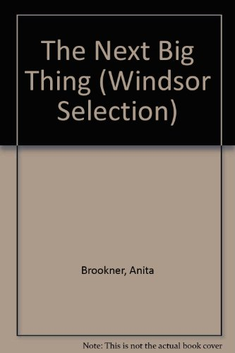 9780754017967: The Next Big Thing (Windsor Selection)