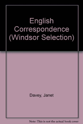 9780754018995: English Correspondence (Windsor Selection)