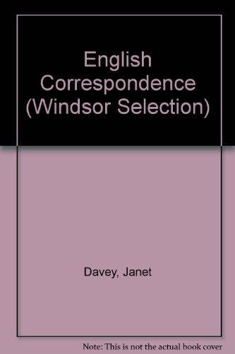 9780754018995: English Correspondence (Windsor Selection)