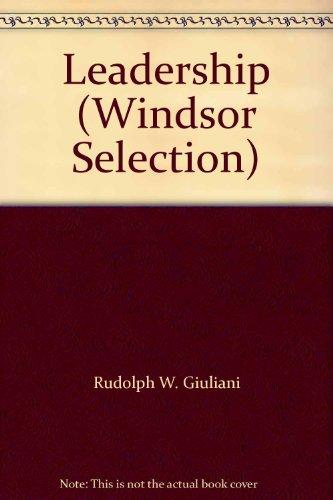 9780754019305: Leadership (Windsor Selection)