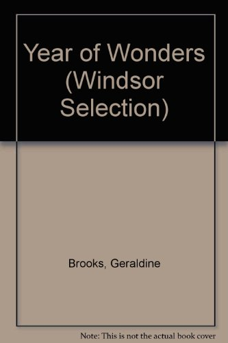 9780754019473: Year of Wonders (Windsor Selection)