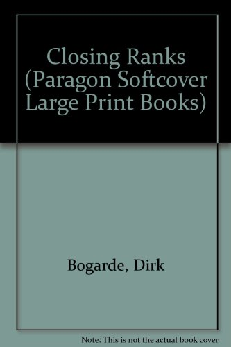 9780754020578: Closing Ranks (Paragon Softcover Large Print Books)